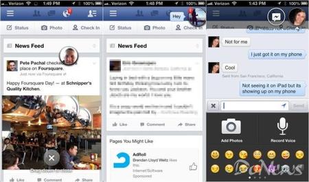 facebook发布6.0版iphone应用:支持聊天头像